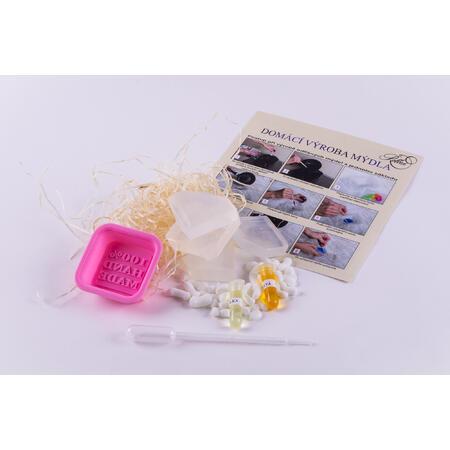 Domácí výroba mýdla-levandule,pomeranč - 2