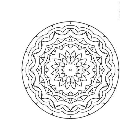 Obrázek pro pískování 23x33 cm /mandala3/ - 2