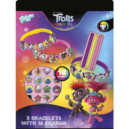 Trollové - vyrob si náramky - 2