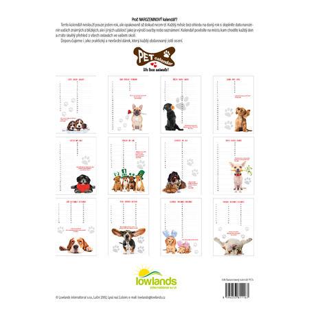 Narozeninový kalendář PETs - 2