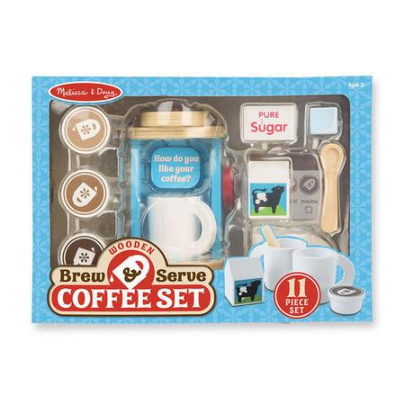 Melissa & Doug - Dřevěný set na přípravu kávy - 2