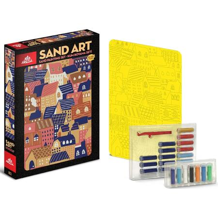 SAND ART /1x A4 obrázek/ - 2