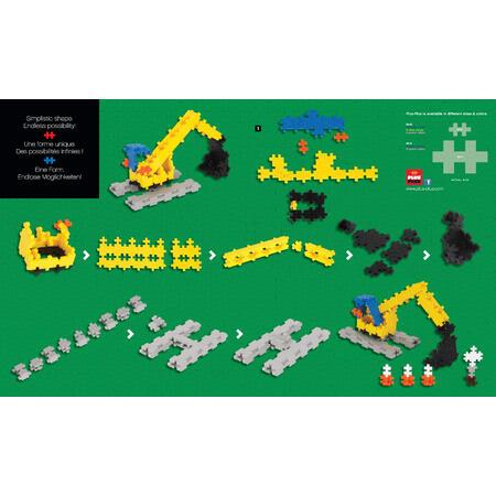 Plus-Plus Basic 360  Stavební stroje - 2