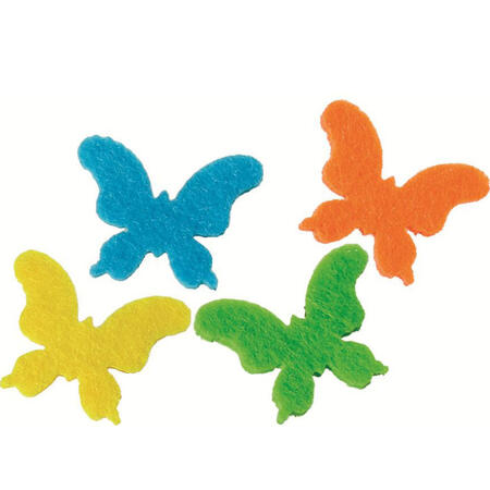 Motýlci z plstě /20 ks,4 barvy/ - 2