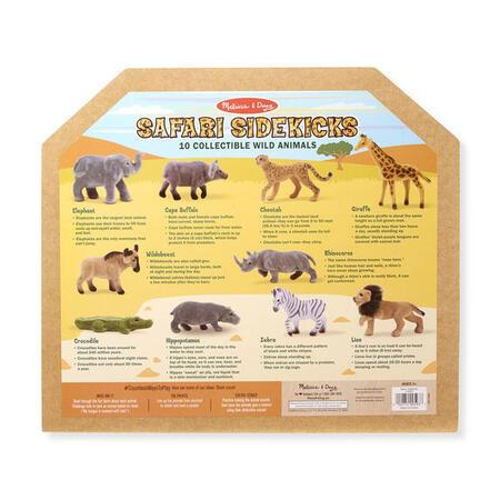 Sběratelská Safari zvířata /10 figurek/ - 2