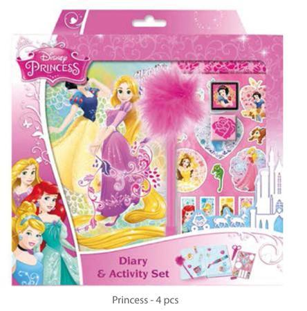 Diář & activity set /Frozen & princes/ - 2