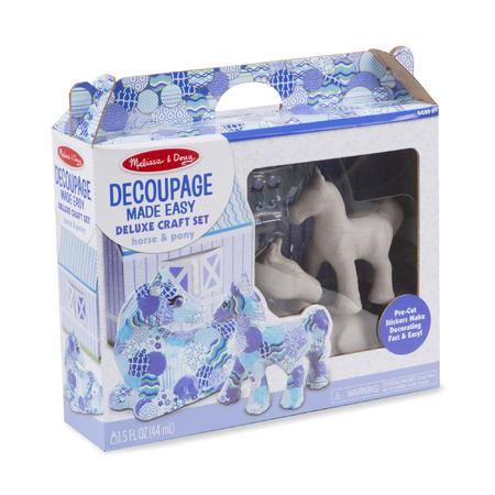 DECOUPAGE /kůň a pony/ - 2