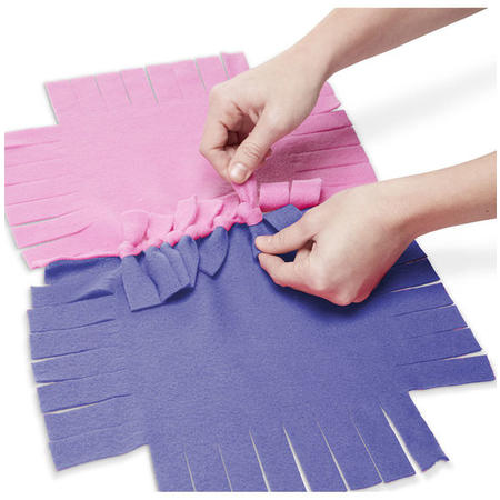 Výroba fleecové deky - 2