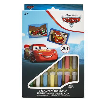 Pískování obrázků 2v1 Cars - 2