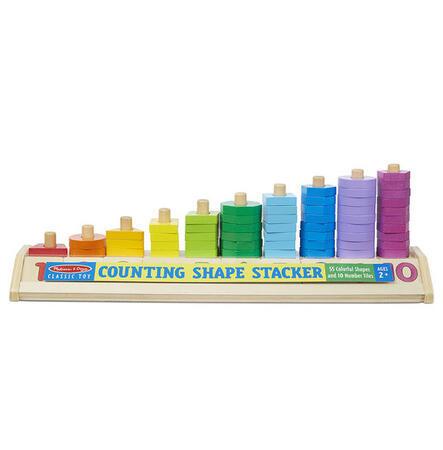 Dřevěné počítání - tvary a čísla - 2