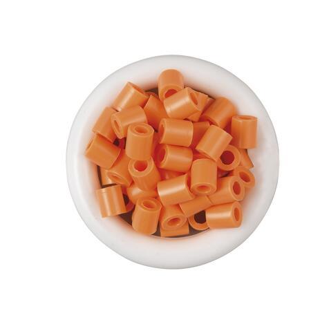 Korálky světle oranžová - 1.000 ks MIDI - 2