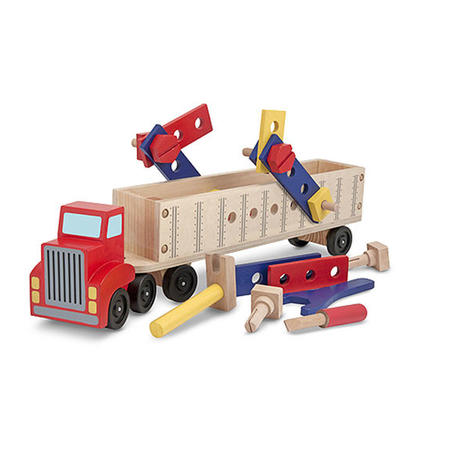 Dřevěná konstrukční stavebnice - auto - 2