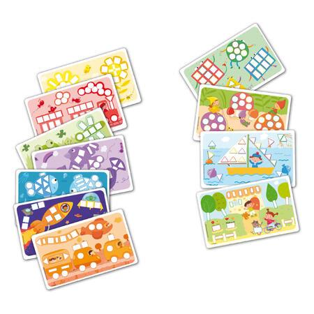 PlayMais Fun to Learn Barvy a tvary 550ks - 2