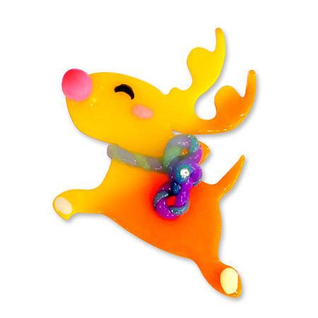 Think Doh - měnící barvu oranž/žlutá - 2