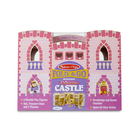 Skládací hrad - růžový - 2