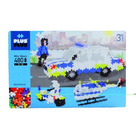 Plus-Plus Pastel 480ks Policie - 2
