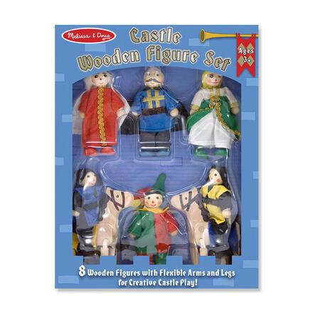 Dřevěné ohebné figurky Knížecí rodina - 2
