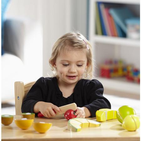 Kuchyňský set ze dřeva - Krájení ovoce - 2