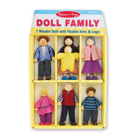 Dřevěné ohebné figurky Rodina - 2