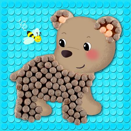 PlayMais Mozaika Mazlíčci 2300ks - 2