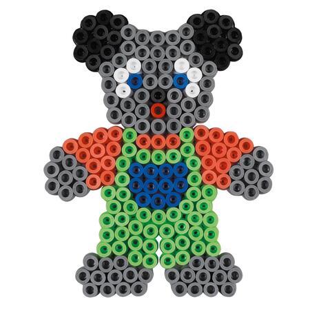 Korálkový set Medvídek - MAXI - 2