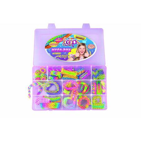 1600+ silikonových gumiček CRAZE LOOPS v MEGA boxu - 2