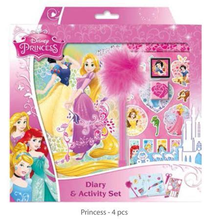 Diář & activity set /Frozen & princes/ - 2