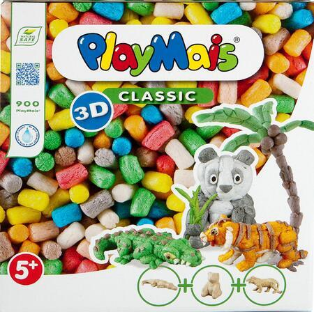 PlayMais CLASSIC Divoká zvířata 900ks - 3