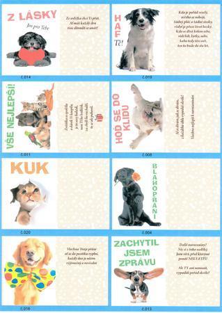 Přání do obálky PETs - 3