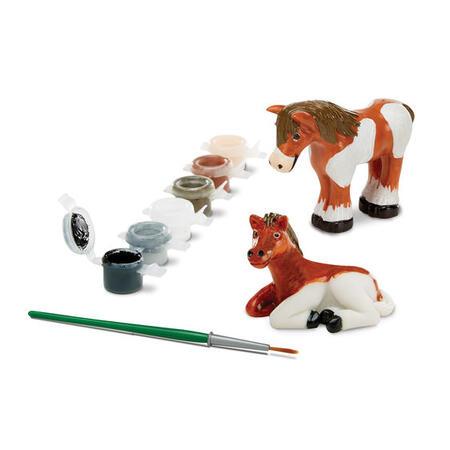 Figurky k vymalování Koně - 3