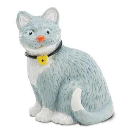 Figurky k vymalování Pes a kočka - 3