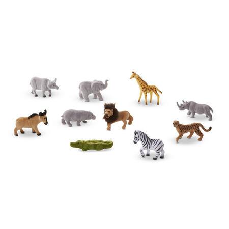 Sběratelská Safari zvířata /10 figurek/ - 3