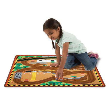 Hrací koberec - Stavba - 3