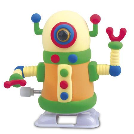 Chodící robot žlutý - modelování - 3
