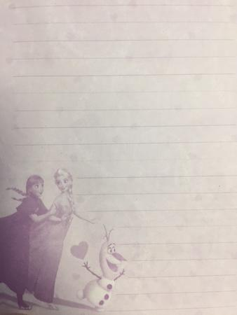 Ledové království II - zápisník se zámkem a tužkou - 3