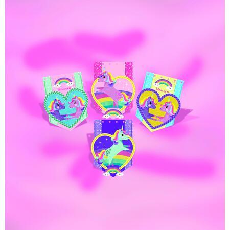 Jednorožec - diamantová zdobící girlanda - 3