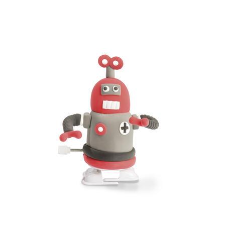 Chodící robot červený modelování - 3