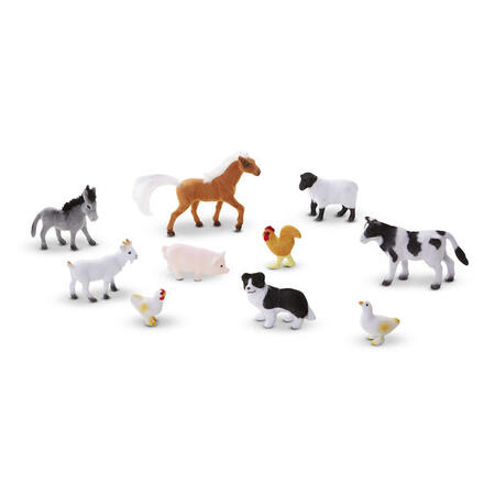 Sběratelská zvířata z farmy /10 figurek/ - 3