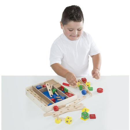 Dřevěná konstrukční stavebnice /48 ks/ - 3