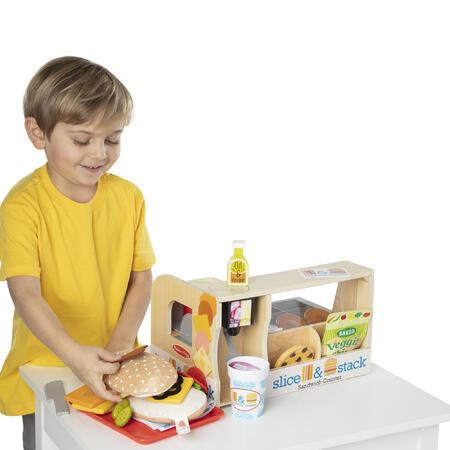 Dřevěný sendvičový pult - 3