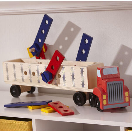 Dřevěná konstrukční stavebnice - auto - 3