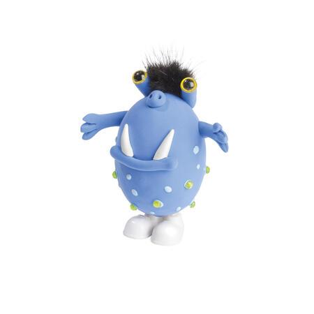 Skákací příšerka modrá - modelování - 3