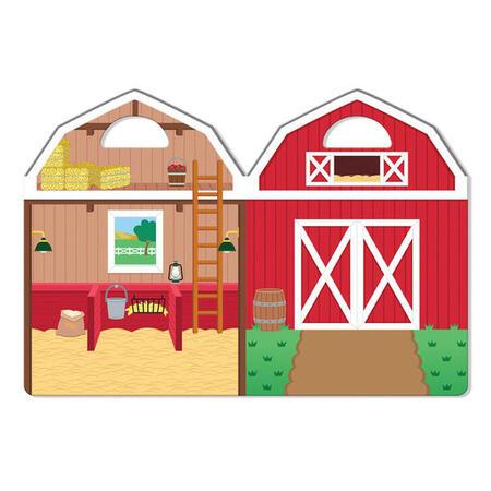 Adhezní sešit se samolepkami - Farma - 3