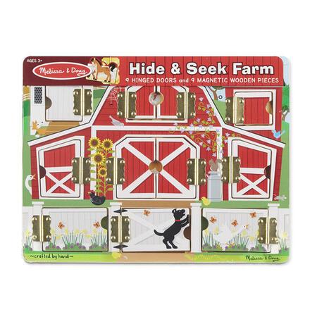 Dřevěné puzzle s dvířky - 3