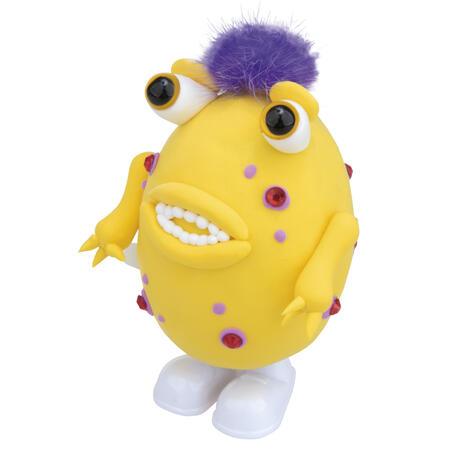 Skákací příšerka žlutá - modelování - 3