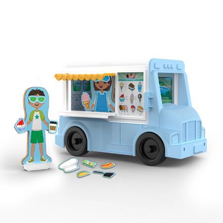 Melissa & Doug - MAGNETIVITY - Pojízdný vůz s občerstvením - 3