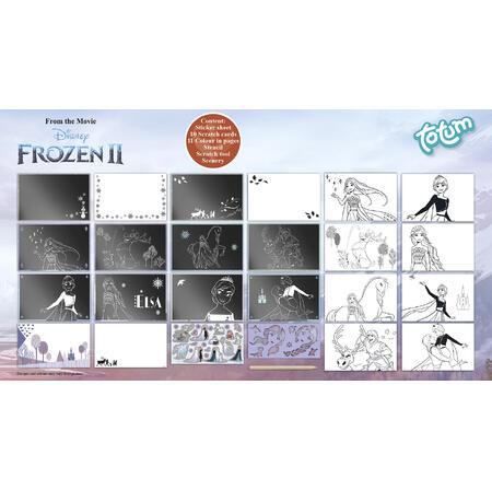 Ledové království II škrabací obrázky - 3