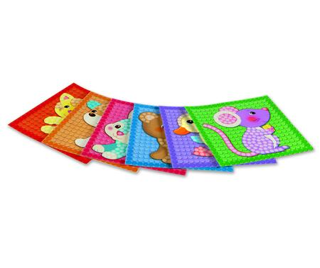 PlayMais Mozaika Mazlíčci 2300ks - 3