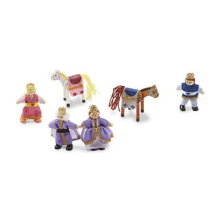 Dřevěné ohebné figurky Královská rodina - 3