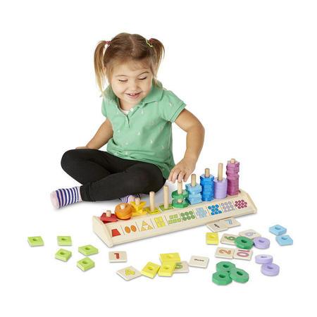 Výuková hračka - tvary a čísla - 3